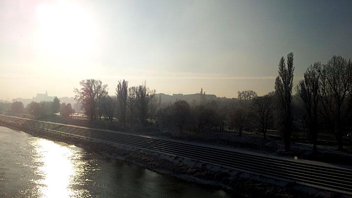 Widok naStare Miasto zMostu Gdańskiego