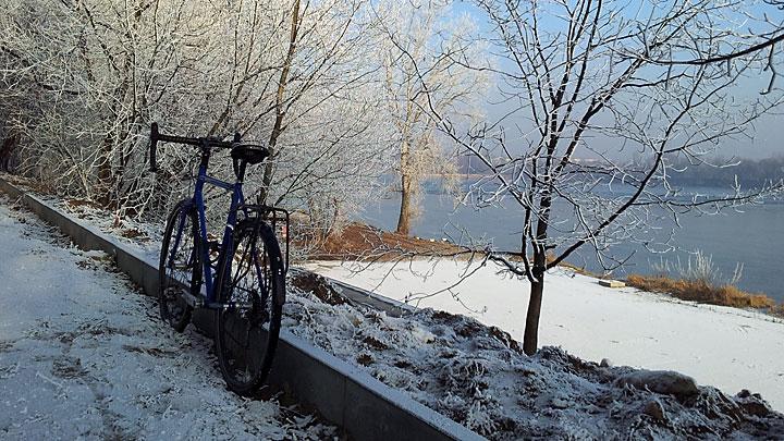 Zimowa strona Wisły